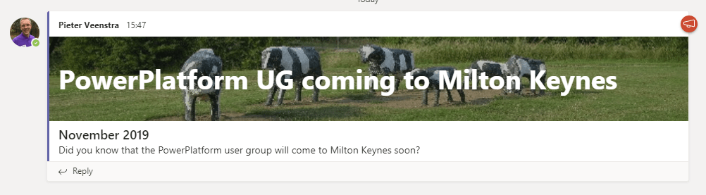 PowerPlatform UG coming to Milton Keynes