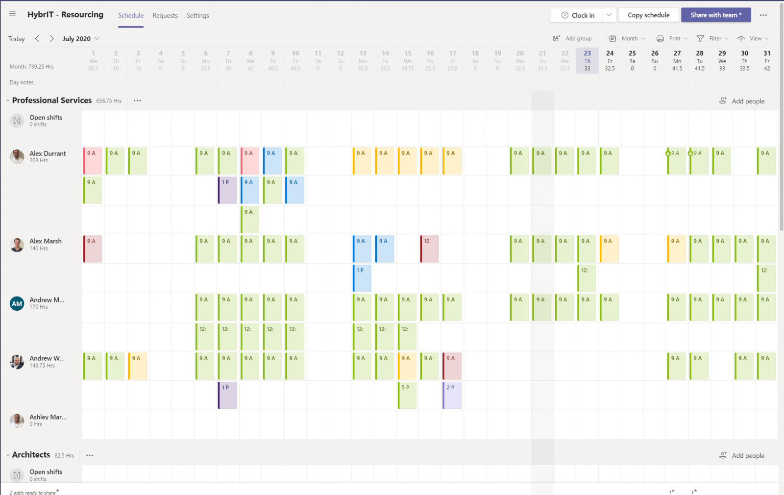 Synchronize Shifts from Microsoft Teams to Outlook Calendars