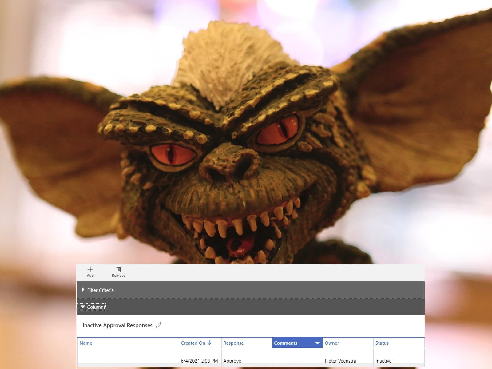 Power Automate Approvals and Dataverse Microsoft Dataverse, Microsoft Power Automate gremlins 1